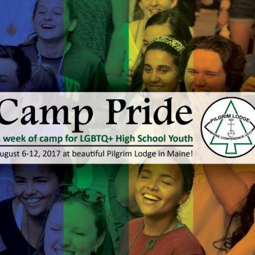 Help Send an LGBTQ+ High Schooler to Camp!